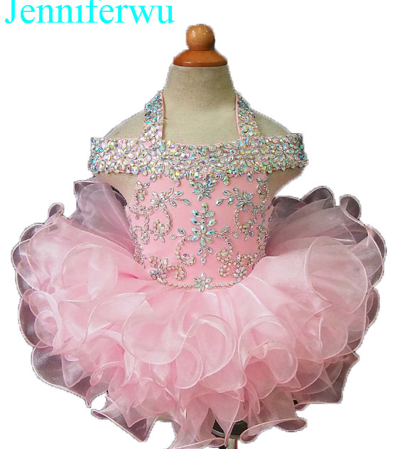 15color available stone AB stone beaded baby girl clothes baby pageant dress  girl  party dresses flower girl dresse G081 купить