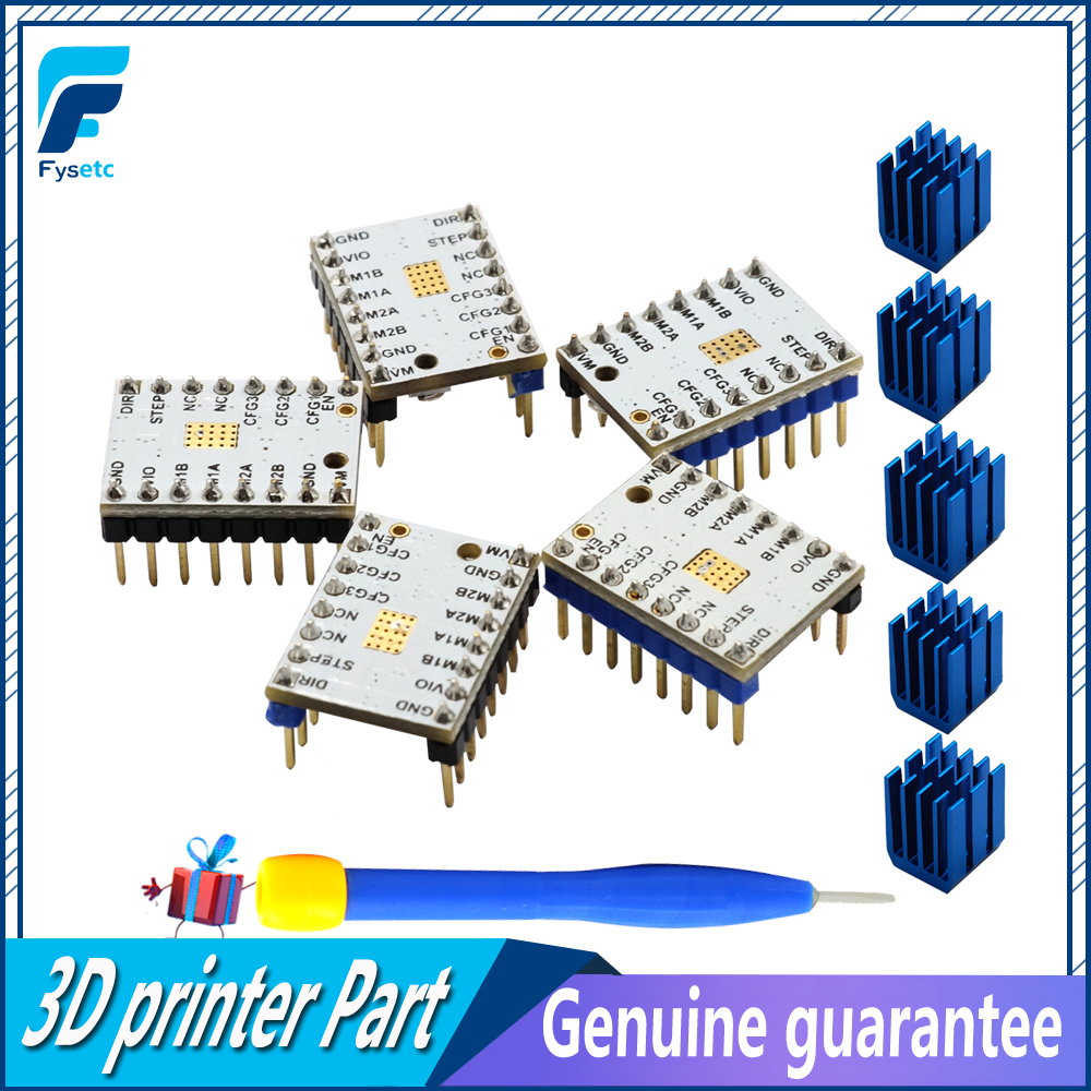 5PCS StepStick TMC2100 V1 3 Stepper Motor Driver Ultra silent Excellent Stability Protection Superior Performance