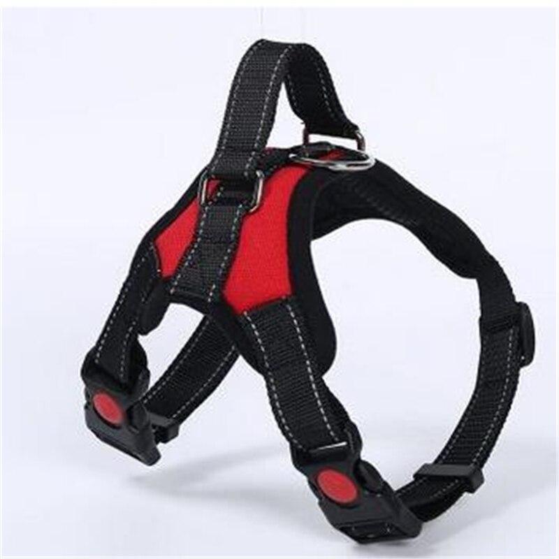 Hond lood pull riem borst harnas ademend mesh grote hond hond vest leash dagelijkse training walk dierbenodigdheden