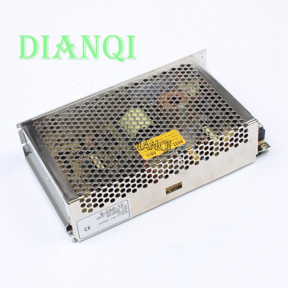 Led Power Supply Switch 250W 12v 20A Ac Dc Converter Power Supply Unit S 250 12