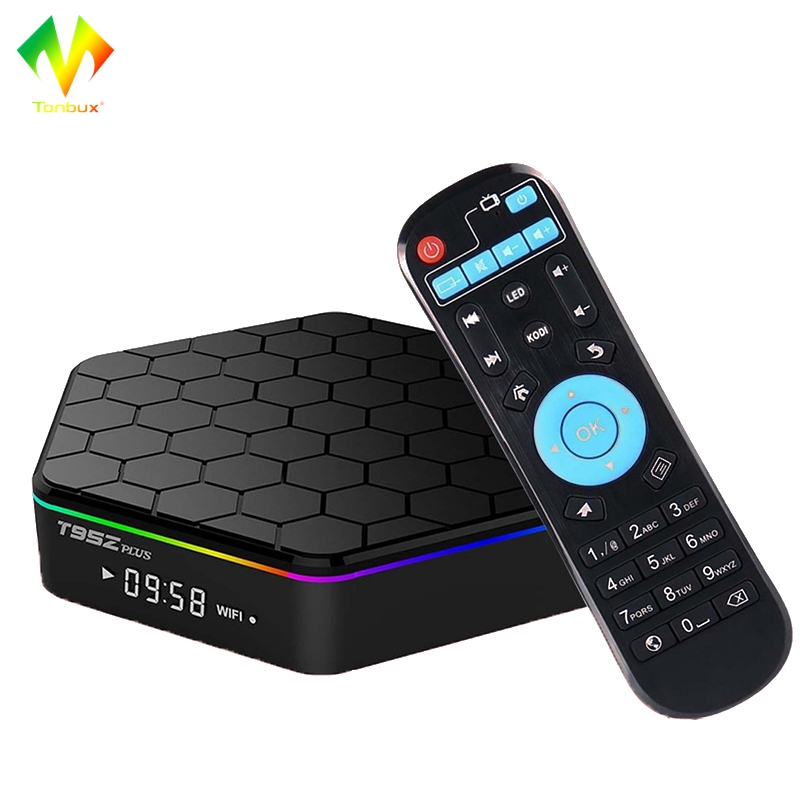 [Genuine]Tonbux TV BOX Android 7.1 OS 2G/16G Amlogic S912 Octa Core 2.4G/5GHz WiFi BT4.0 4K Smart Mini Set Up Box TV for Movies