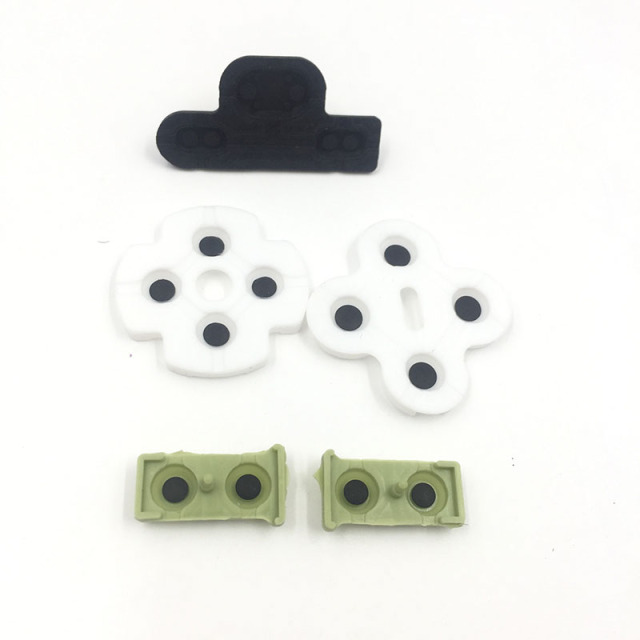 Replacement Conductive Silicon Rubber Button Pads for PS3 Controller L2R2 L1R1 ABXY D Pad Rubber 3