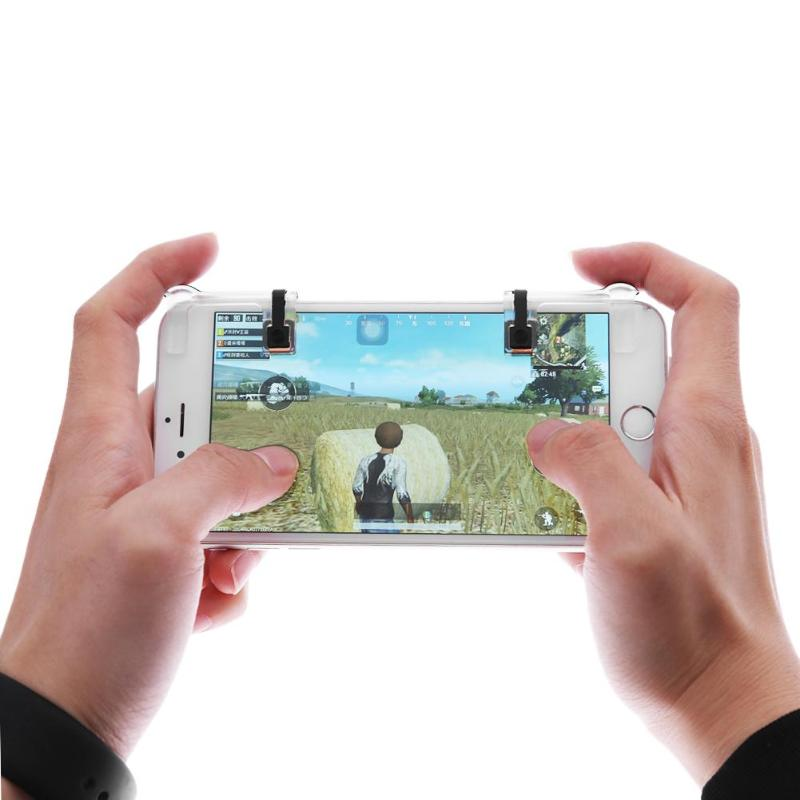 1 Pair Physical Smart phone Mobile Joysticks Game Controller Assist Tools for Mobile Phone Tablet for STG FPS TPS Games