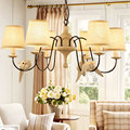 American country restaurant cafe bar living room bedroom foyer hotel hall pendant light, 6 heads bird lamp fixture ceiling lamps
