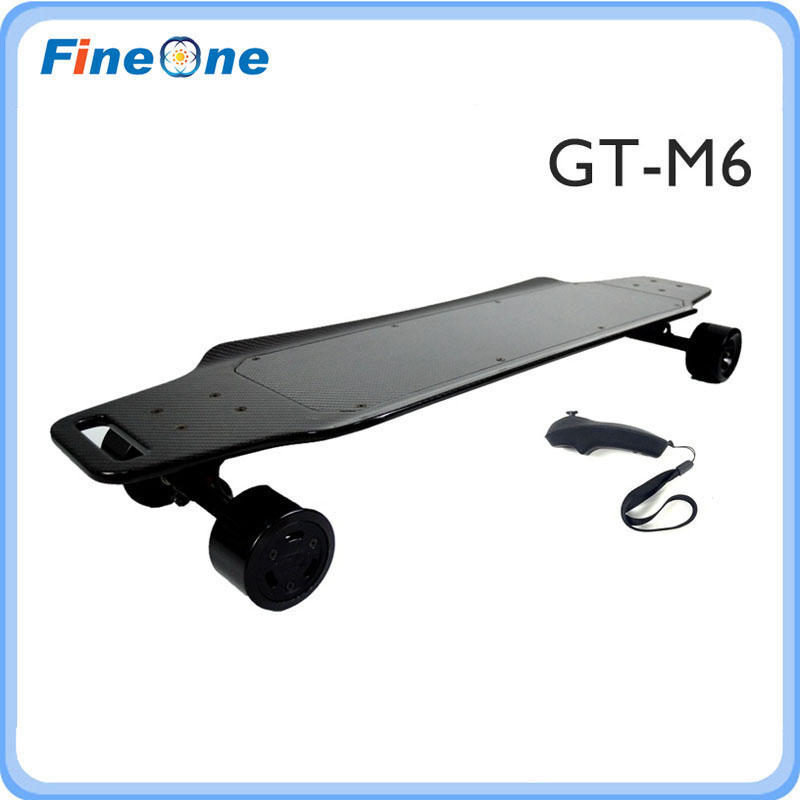Electric Skateboard Hoverboard Carbon Fiber Deck Electric Longboard Skateboard Waterproof Wheel