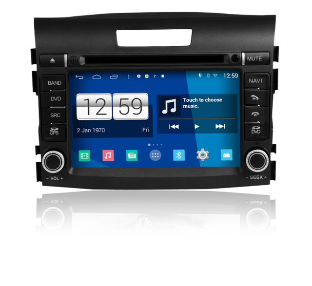 S160 Android Car Audio FOR NEW HONDA CRV 2012 2014 Car Dvd Gps Player  Navigation