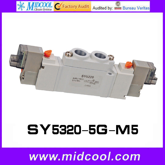 5 way pilot solenoid valve SY5320-5G-M5 1000g jasmine pearl tea fragrance green tea free shipping