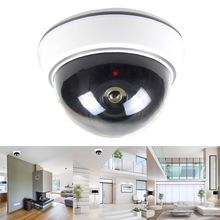 Simulation Dummy Security Surveillance Fake Camera with LED Light for Outdoor Indoor GY88