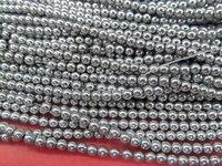 Оптовая 5 пряди 2 3 4 6 8 мм Гематит камень Титана покрытием, круглый шар серый синий серебро, золото, бронза, фиолетовый, brozne смешанные свободны...
