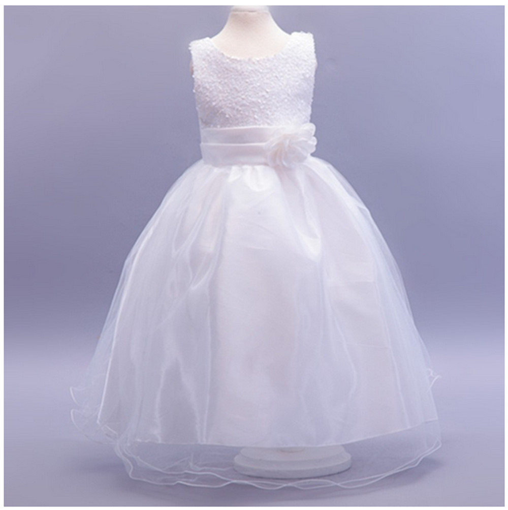 Baby Pink Children Clothes Girl Costumes Wedding Dresses For Girls ...