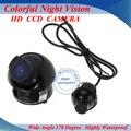 Мини CCD HD Ночного Видения 360 Градусов Автомобильная Камера Заднего вида Передняя Камера Спереди Вид Сбоку Заднего Резервную Камеру