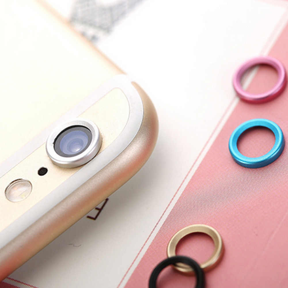 Centechia Protective Metal Rear Camera Lens Ring Guard Circle Case Cover Protection for iPhone 6plus/6s plus 5.5 Inch
