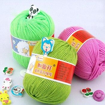 Heißer 500g 10 Bälle Natürliche Baumwolle Von Wolle Für Handstricken