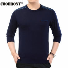 Free Shipping 2016 Autumn Winter New Knitted Cashmere Wool Sweater Men O-Neck Pullover Men Soft Warm Round Neck Pull Homme 66150