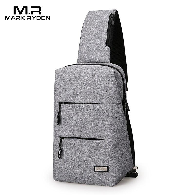 Mark Ryden 2019 New Crossbody Bags Men Chest Pack For Short Trip Men Messengers Bag Hot-Summer Shoulder Bag