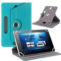 "For Acer Iconia Tab B1-711/B1-720/B1-721/B1-A71 7"" 360 Degree Rotating Universal Tablet PU Leather cover case+Stylus"
