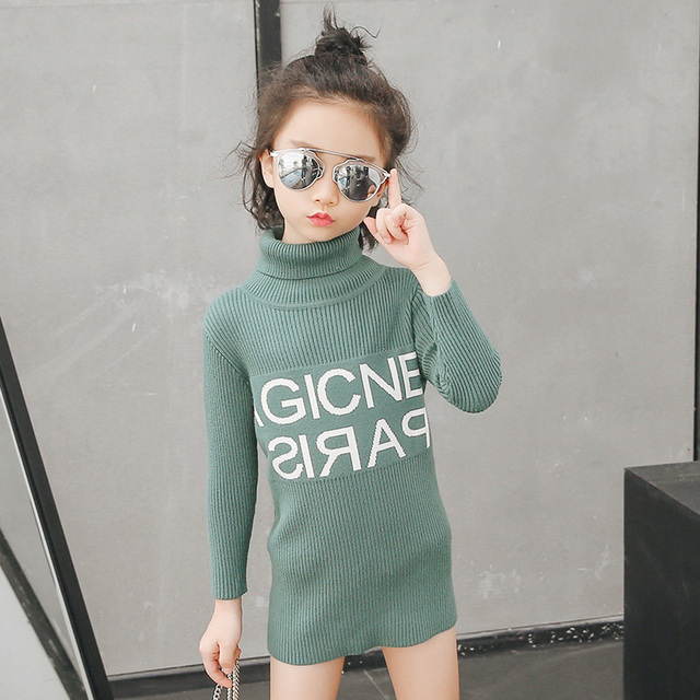 827f6f846 Girls Sweater Kids Clothes 2018 Spring Winter Children Clothing ...