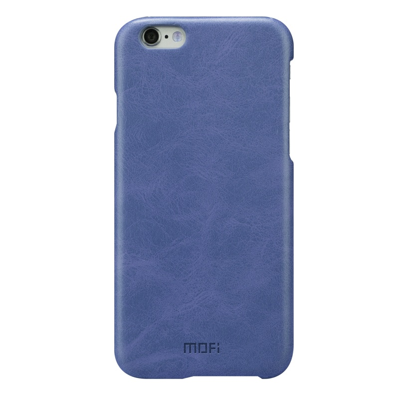 MOFI PU Leather Skin Plastic Back Cover for iPhone 6s/6 4.7-inch