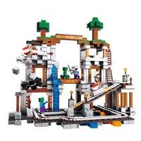 LELE 79074 922pcs My World The Mine Building Block Compatible 21118 Bela 10179 Kids DIY Brick