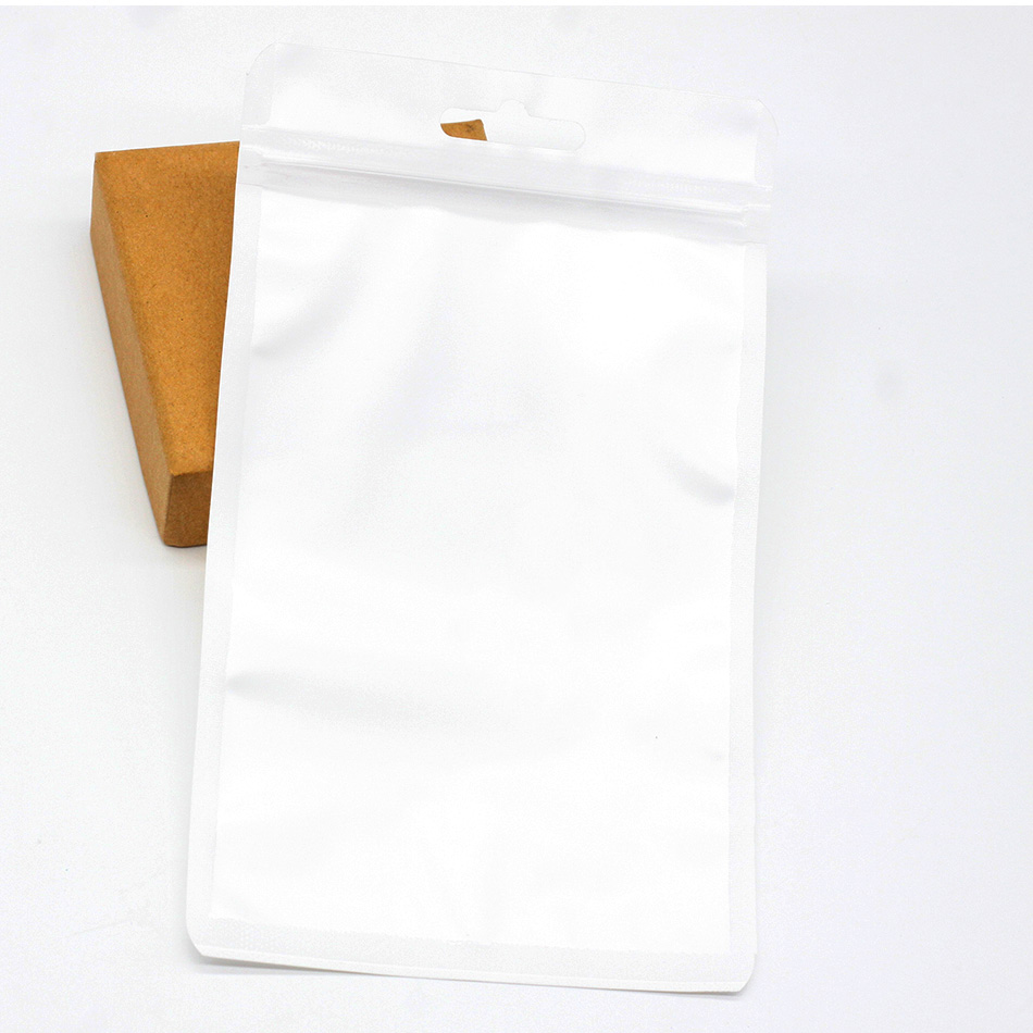 New White 20pcs(19.5x11.5cm) display bags BPA free baby plastic bags  package jewelry gift pendant