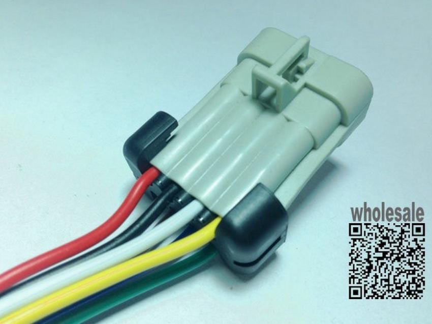 longyue 2pcs LS coil harness connector pigtail 8 Cavity Metri Pack ...