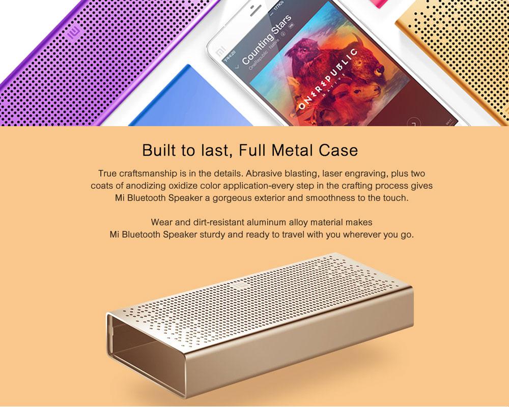 Original Xiaomi Mi Bluetooth Speaker Stereo Wireless Mini Portable Bluetooth Speakers Music MP3 Player Support Handsfree TF Card ok (4)