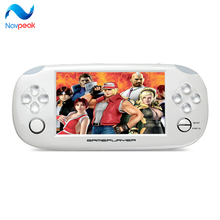 Free Shipping handheld Game Console 4.3 inch touch screen mp4 player MP5 game player real 8GB support for game,camera,video