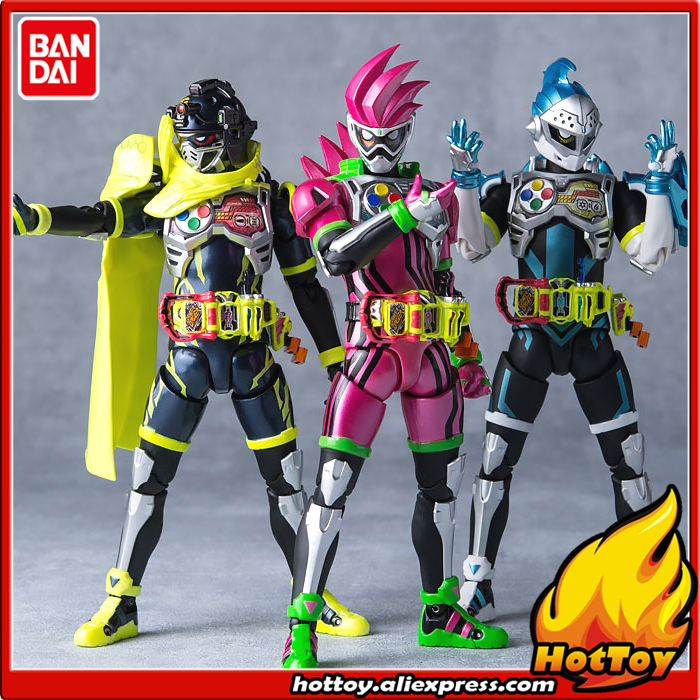 100% Original BANDAI Tamashii Nations S.H.Figuarts (SHF) Action Figure - Mighty Action X Beginning Set from Kamen Rider Ex-Aid