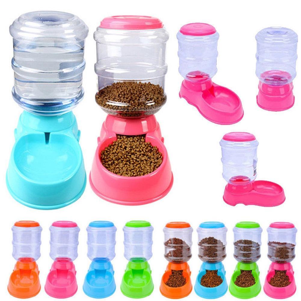 LumiParty 3.5L Pet Alimentatore Automatico di Acqua Potabile Fontana del Cane Del Gatto Intelligente Alimentazione Navi Supplies-30