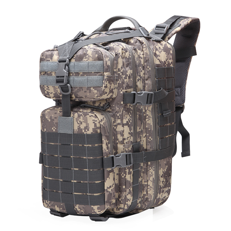38L Military Tactical Assault Backpack Army 3D Waterproof Outdoor Bag large Rucksack Hiking Camping Hunting Trekking Travel Pack