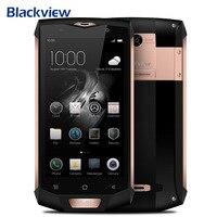 טלפון נייד המקורי Blackview BV8000 Pro 4 גרם 5.0 Inch אנדרואיד 7.0 MTK6757 אוקטה בליבה 2.3 GHz 6 GB + חכם NFC OTG 64 GB 16.0MP