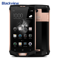 Original Blackview BV8000 Pro 4G Mobile Phone 5.0 Inch Android 7.0 MTK6757 Octa Core 2.3GHz 6GB+64GB 16.0MP NFC OTG Smartphone
