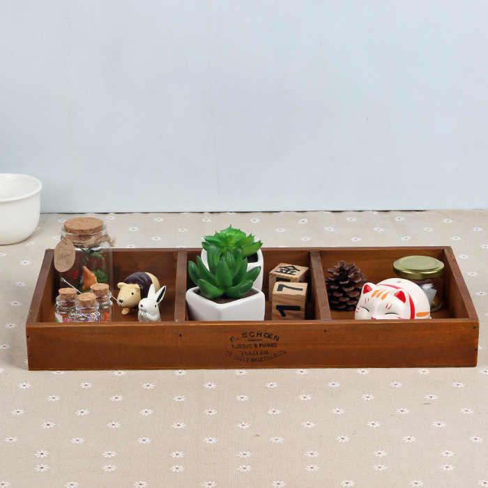 Handmade กล่องไม้หัตถกรรมหีบสมบัติ Vintage Retro ไม้มัลติฟังก์ชั่เครื่องประดับโบราณ Trinket กล่องเก็บ