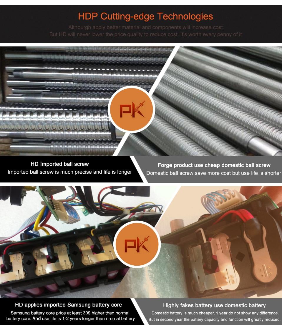 Elektrische snoeischaar HDP36-1 (8-12 werkuren elektrische bypass - Tuingereedschap - Foto 4