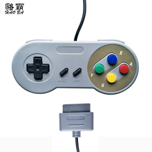 HAOBA Wired Computer host SNES Controller for System Console Gamepad four Colors Button