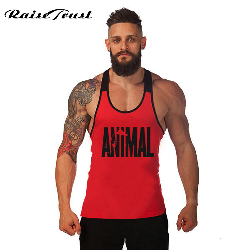 2019 Gymvest bodybuilding clothing and fitness men undershirt   tank     tops   brand high quality 100% cotton undershirt Camouflage