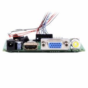 Image 4 - Accesorios para mechones 10,1 pantalla LCD Monitor LCD TFT + Kit HDMI VGA placa controladora de entrada para equipos de monitoreo