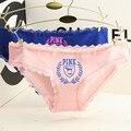 2016 Top Fashion limitada Calcinha de renda Calcinha senhora V na moda roupas íntimas femininas Original único Micro Thong Panty Briefs M / l