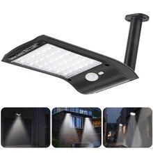 36 светодиодный солнечный свет настенный светильник для уличный дворовый садовый светильник PIR датчик движения светодиодные водонепроницаемые лампы безопасности двора светодиодный светильник