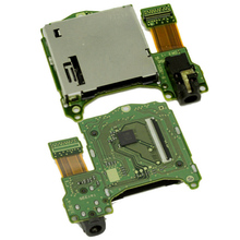 Professional Replacement Reader Console Headphones Jack Port Socket Game Cartridge Card Slot for Nintendo Switch Repair Parts
