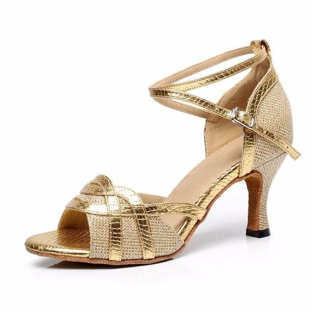 Mujer de baile latino modernos zapatos de baile para niña de Salsa Samba  Tango Kizomba b6e539887c7a