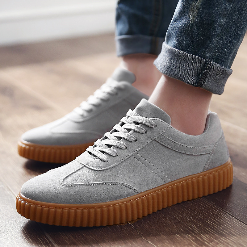 KUYUPP Men Casual Shoes quality creepers suede shoes size 39-44 luxury men shoes flats chaussure femme 2017 spring autumn Y171 (38)