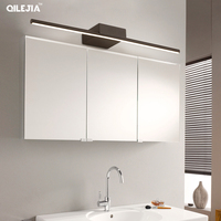 Modern Simple Mirror light for bathroom LED Wall lamp Aluminum fixtures Wall lighting for makeup barbershop dressing table