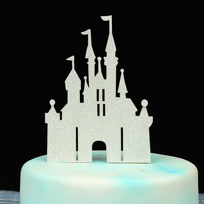 Disney Frozen Party Elsa princesa tema decoraciones para fiesta de cumpleaños chico s Cupcake Topper para chico cumpleaños fiesta torta suministros
