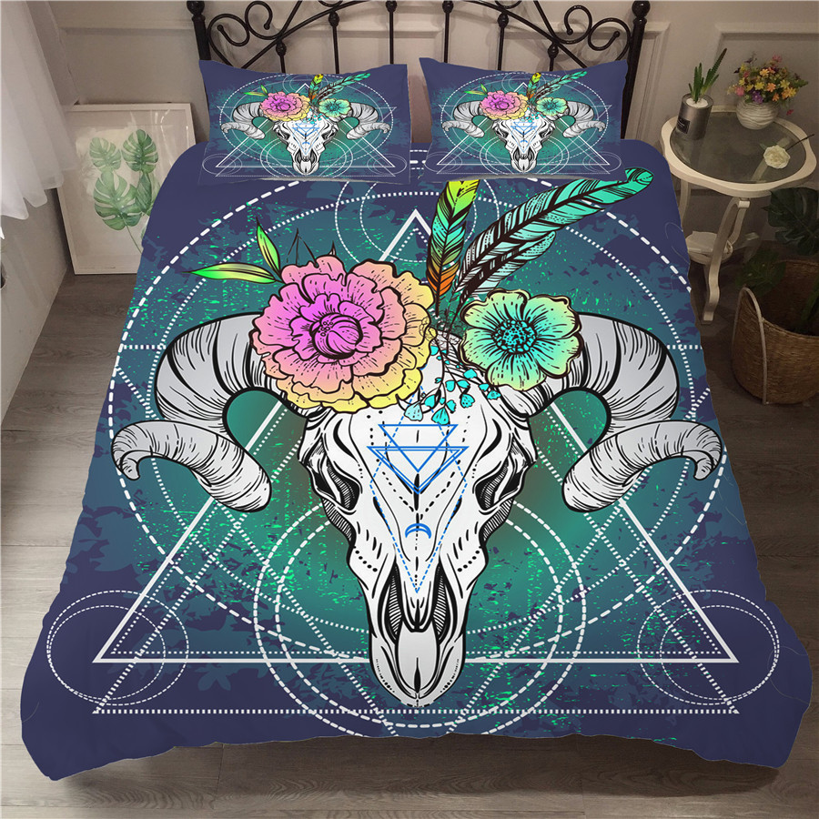 Bedding Set 3D Printed Duvet Cover Bed Set Dreamcatcher Bohemia Home Textiles For Adults Bedclothes With Pillowcase BMW08