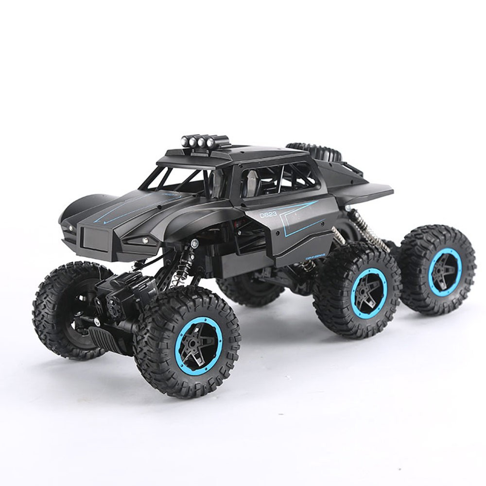 Electric <font><b>RC</b></font> Car Outdoor Remote Control Buggy 6 <font><b>Wheel</b></font> Climbing Bigfoot <font><b>Truck</b></font> Toy Mountain Off-road Children's Gift Boy's Toy image