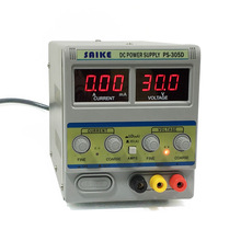 SAIKE 305D DC Regulated power supply 30V 5A adjustable voltage notebook mobile phone maintenance Laboratory power supply saike 1503d dc regulated power supply 15v 3a regulated adjustable laboratory power supply with usb interface