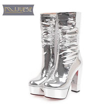 a93eac86fb6 Silver Platform Boots Promotion-Shop for Promotional Silver Platform ...