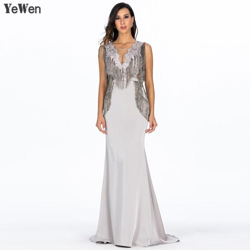 Сексуальные вечерние платья с глубоким v образным вырезом серебристого цвета, вечерние платья без рукавов с принтом, Клубные вечерние длинн