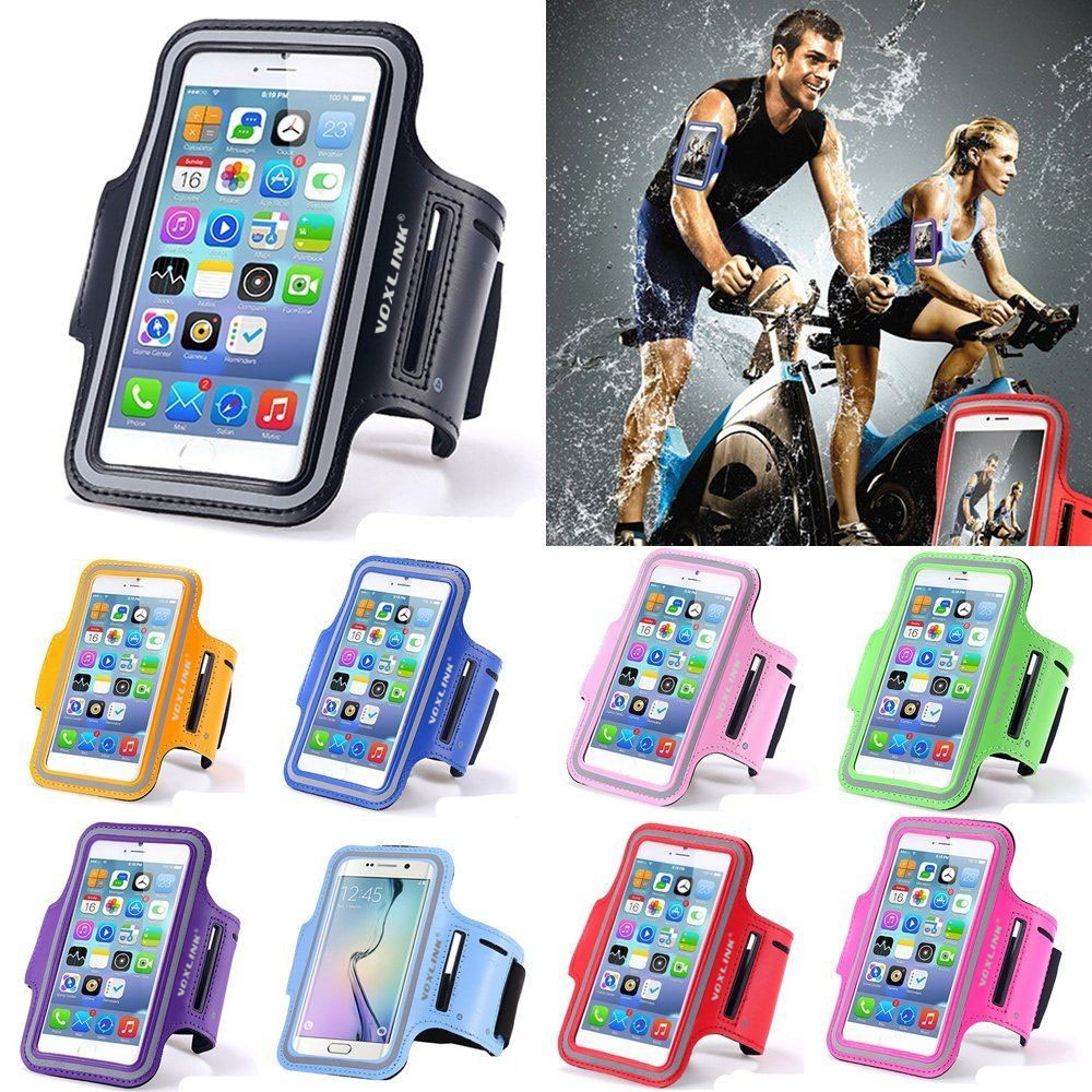 Sport Running Armband for IPhone 6s 6 7 8 Plus X Armband For Samsung S9 S8 For Xiaomi Arm Band Belt GYM Bag Phone Cases 6 inch
